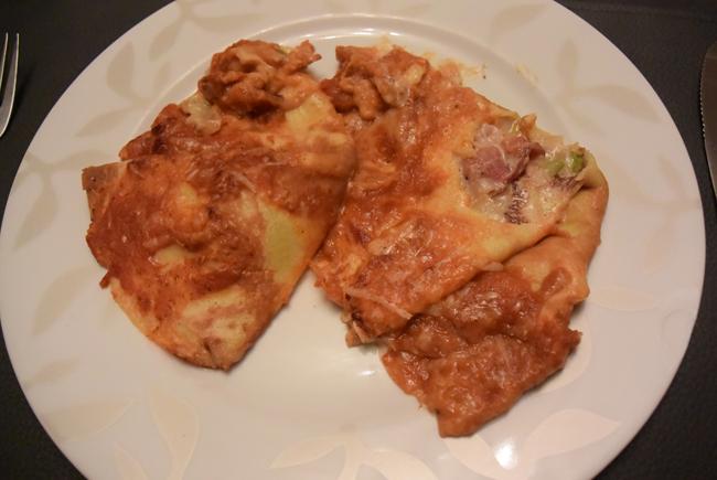 Gevulde pannenkoeken met witloof en ontbijtspek of Vlaamse crespelle 1