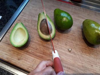 Avocadomousse met garnaaltjes 2