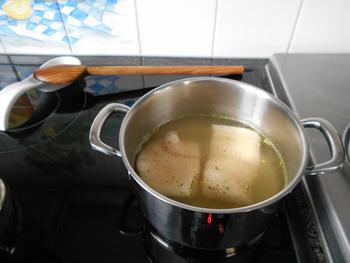 Brandade van zoete aardappel en visfilet 2