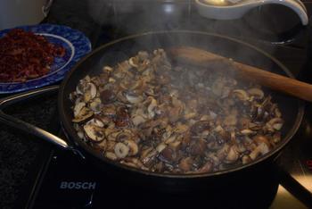 Champignonsoep met port en spekjes 8