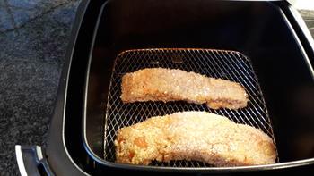 Gepaneerde zalm in de airfryer of in de oven. 3