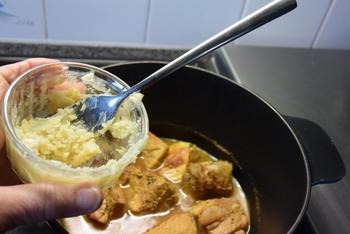 Kalfsblanquette met champignons, zilveruitjes en gehaktballetjes 7