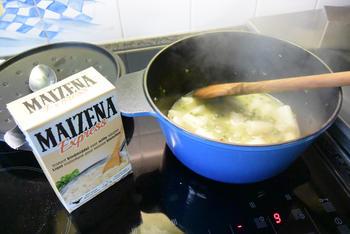 Kip in de oven met gestoofde asperges en aardappelpuree 8
