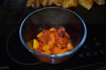 Kippendijen en groentjes uit de oven 8