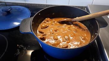 Lasagne met everzwijnragout 4