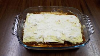Lasagne met everzwijnragout 10
