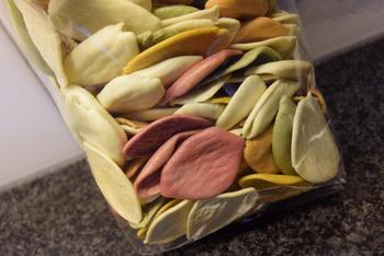 Ovenschotel van Strascinati colorati met kaassaus en Italiaans ham 3