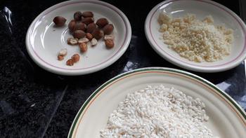 Rijst met spek en pompoen 4