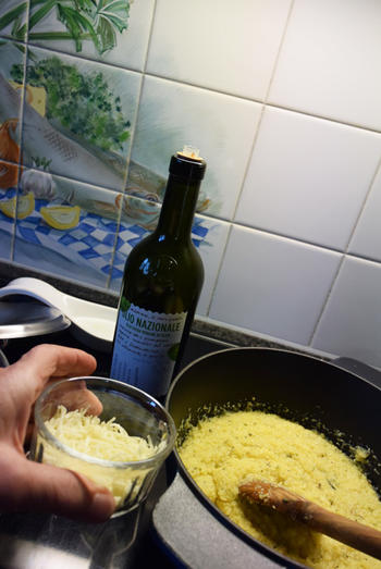 Rivierkreeftstaartjes met polenta en asperges 9