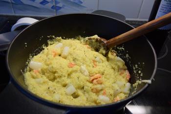 Rivierkreeftstaartjes met polenta en asperges 10