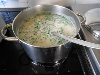 Knolseldersoep met appel en currypoeder 2