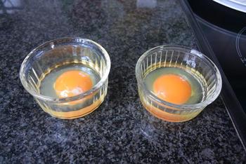 Slastamppot met gepocheerd ei en garnaaltjes 5