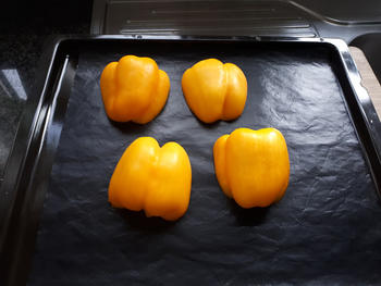 Tortiglione met gele paprikapesto en kipfilet 2
