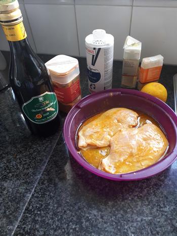 Tortiglione met gele paprikapesto en kipfilet 7