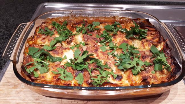 Lasagne met everzwijnragout 1