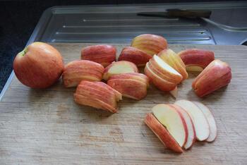 Amandel-appeltaart met kruimeldeeg 7