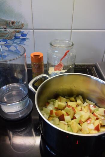 Eenvoudige currysaus 3