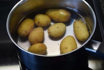 Gevulde kipfilet met groentjes in de oven 3