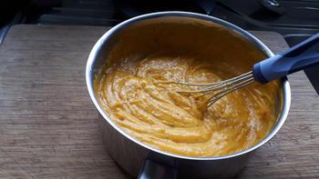Lasagne met pompoen, gehakt en kaassaus 8