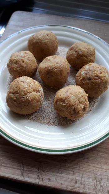 Linzenballetjes met champignons en tomatensaus 6