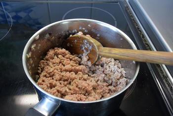 Paprika gevuld met bulgur en gehakt 5