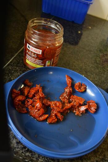 Paprika gevuld met bulgur en gehakt 6