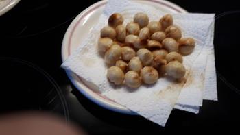 Skrei of kabeljauw met een korstje van macadamianoten 4