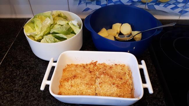 Skrei of kabeljauw met een korstje van macadamianoten 1