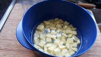 Boerenkool met witte bonen en chorizo 2