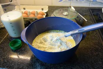 Eenvoudige pannenkoeken 2