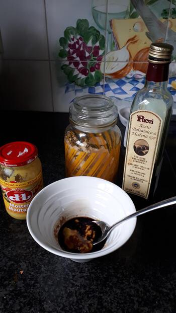 Iberico kotelet met mosterdsaus, spruiten en aardappelpuree 4