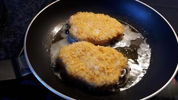 Krokante kipfilet met eenvoudige risotto 4