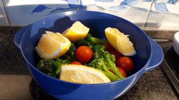 Tajine met kippenbouten, broccoli en citroen 5