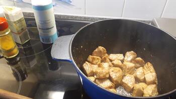 Varkensstoofvlees met mosterd 3