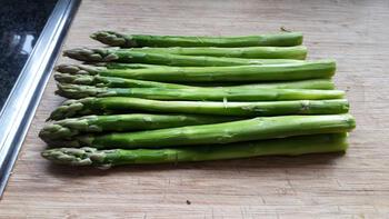 Zalmpastei met groene asperges 2