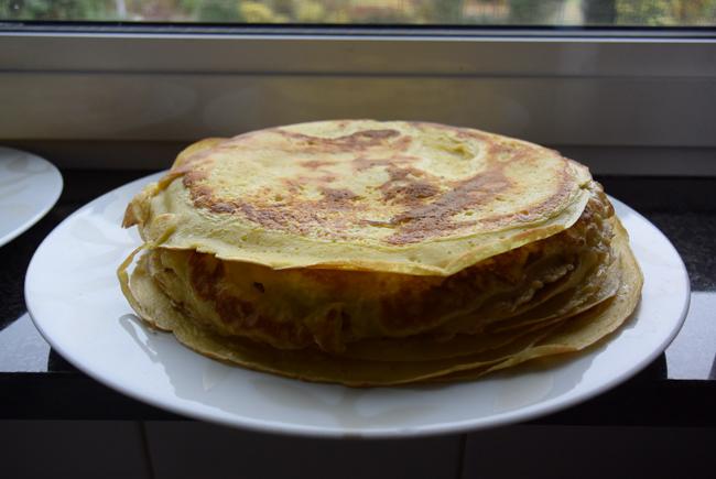 Eenvoudige pannenkoeken 1