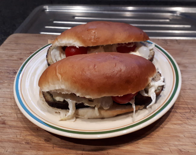 Sandwiches met gehaktbrood, witloof en tomaatjes 1
