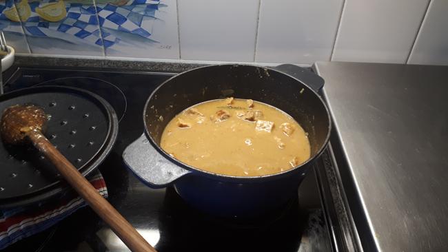 Varkensstoofvlees met mosterd 1