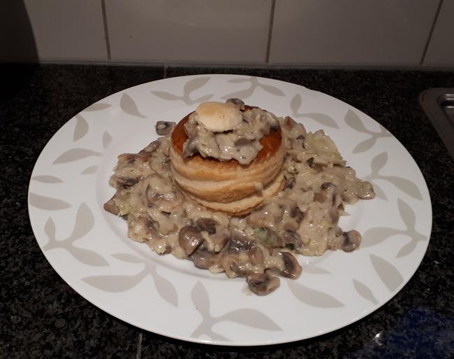 Vegetarische vidé van champignons en savooikool 1
